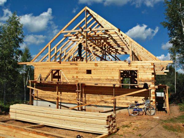 Budowa dachu więźba dachowa