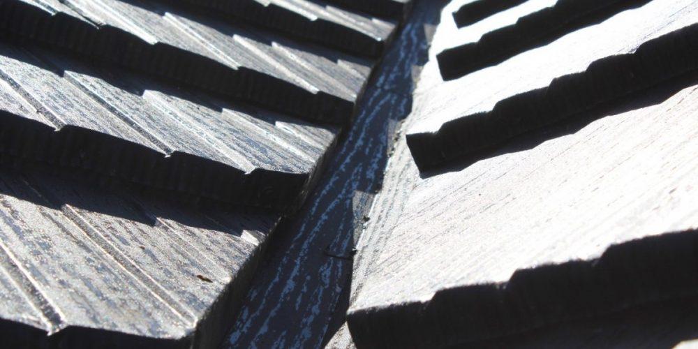 Gont Blaszany JANOSIK – połączenie w rynnie koszowej (korycie)