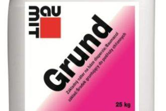 Środek gruntujący do podłoży chłonnych Baumit Grund, fot. Baumit