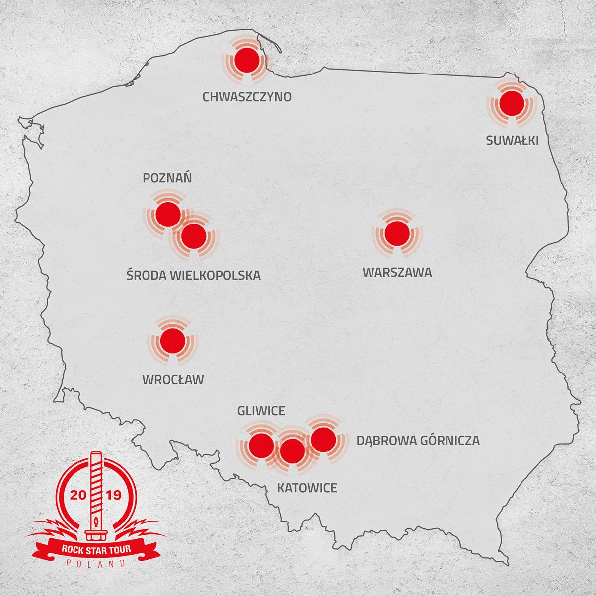 Rock Star Tour Poland