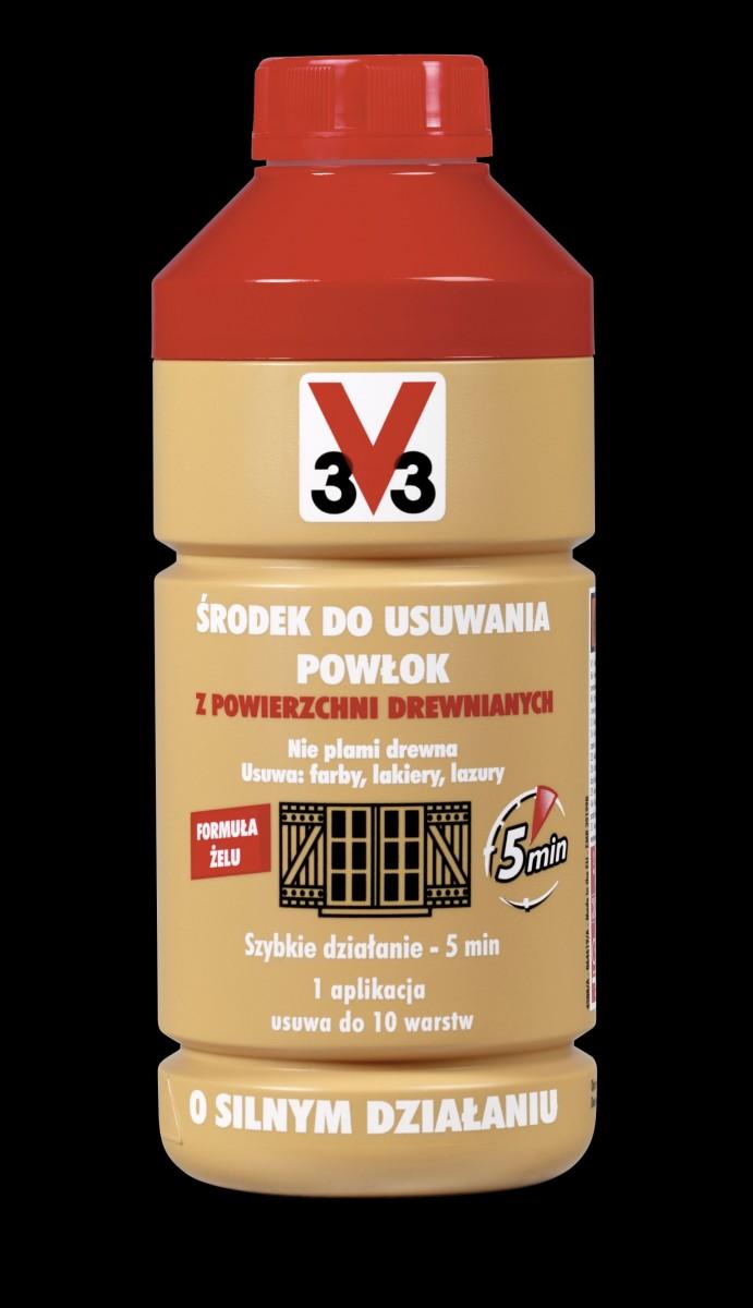 V33 środek do usuwania z powierzchni drewnianych